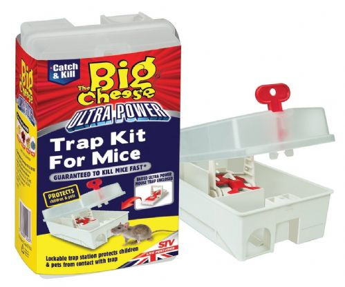 TRAP KIT FOR MICE LOCKABLE (STV563)